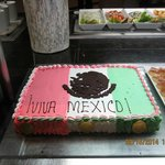 Mexico National Day cake