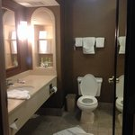 Large bathroom in king suite