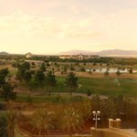 Spectacular view from our room of the Mountain Course at Angel Park Golf Club