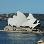 Sydney Opera House - view from our room