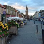 Early Morning in Berwick on Market Day