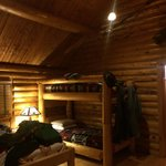 Really comfortable. spacious log cabin bungalows