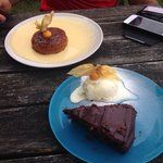 Puddings - recommend the toffee pudding , avoid the fudge cake