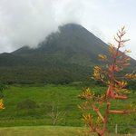 Viewof Arenal Volcano from the hotel