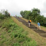 Going to the Top of Mound A