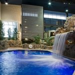 Indoor Pool with Waterfall