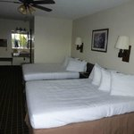 Our Room - nice washable blankets & many pillows