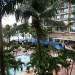 Room 438 over looking pool. Great view