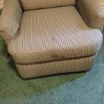 soiled chair