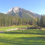 Top course in Canmore , Canada