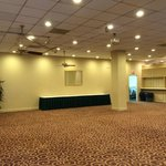 sliding walls can create a larger ballroom for functions.