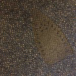 Iron imprint on carpet