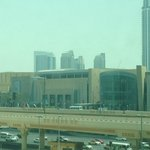 View across to the Dubai Mall