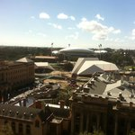 Adelaide Oval from Stamford on North Terrace