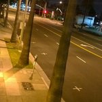 It is a very quiet area in Santa Monica...Even the main drag was nearly deserted at night