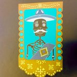 New calavera painting in room one