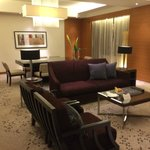Lounge and dining are of my suite