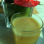 It is not often that hotel staff offer to make fresh pineapple juice