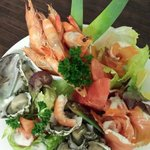 Part of ourFresh Seafood Platter