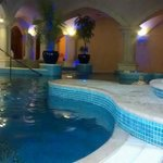 several jacuzzi pools, different types