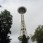 A friendly view of the space needle
