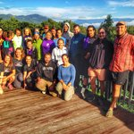 Outdoorsman Triathlon College participants on the Phoenix deck