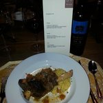 Lamb Special prepared by Massi, Chef and owner of Riva Cucina