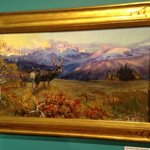 In Swan Lake County by CM Russell at Montana Historical Society c1926