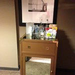 Tiny Mini Bar (used the drawer to stash my make up bag)