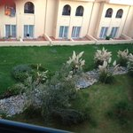 view of garden from room