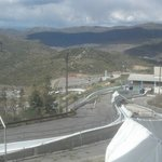 Bobsled track in September