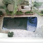 The pool from 5th floor