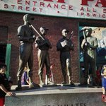 The Teammates Statue Ted Williams, Bobby Doerr, Dom DiMaggio and Johnny Pesky