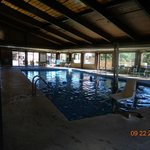 large pool area (landscaped nicely!)