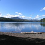 View of Suttle Lake from Day Use area
