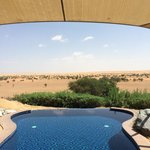 Swimming pool in Bedouin suite