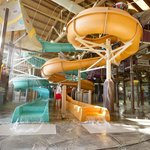 Totem Towers Water Slide