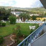 beautiful pool and gardens