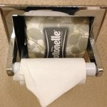 The poor housekeepers are being told to not replace the roll to save $.  Imagine what else they