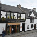 The front of the best hotel in South Queensferry.