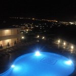 Hotel pool nightlights