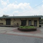 Kennesaw's 1908 Railroad Station across the street