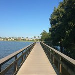 Nassau bay city park walking pier