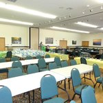 Camden has large round tables, rectangle tables, small round tables and chairs, we used 200+