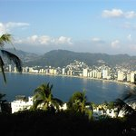 View of Acapulco Bay from our pool