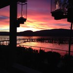 SUNSET AT THE MANTEO, KELOWNA