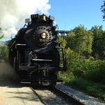 Special steam engine ride! Cuyahoga Valley Scenic Railroad always there.