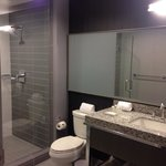 Great large bathroom and amazing shower!
