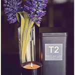 T2 Tea and Hotel Lindrum candle