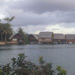 View of the overwater villa